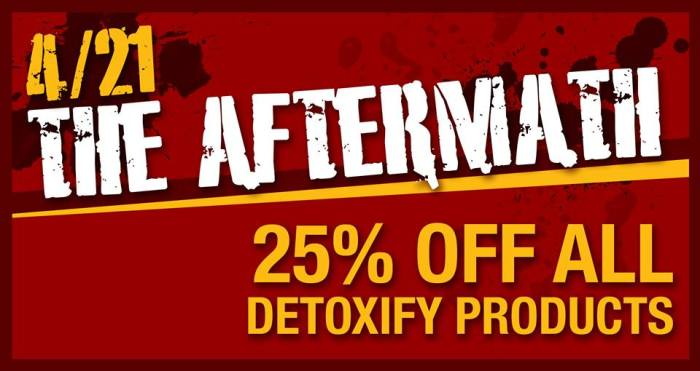aftermath sale