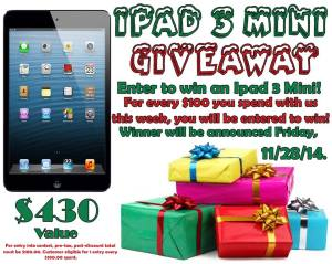 ipad mini giveaway 2014