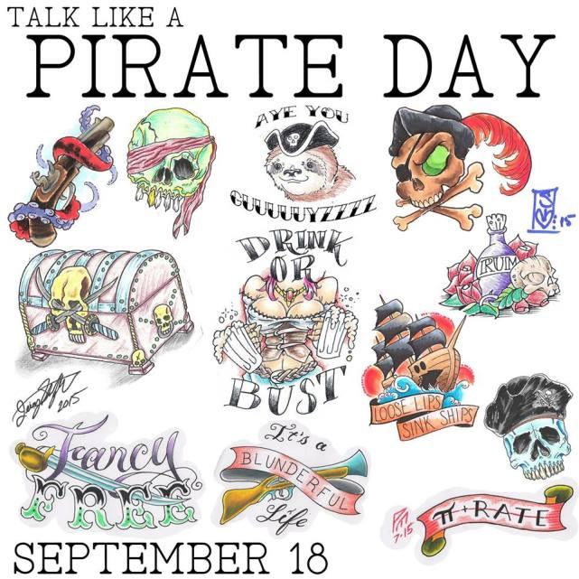 talk like a pirate day flash 2015